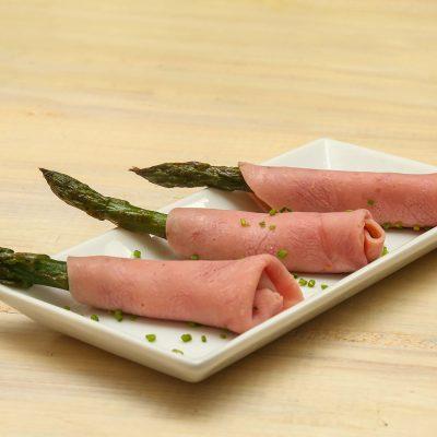 Ham aspargus