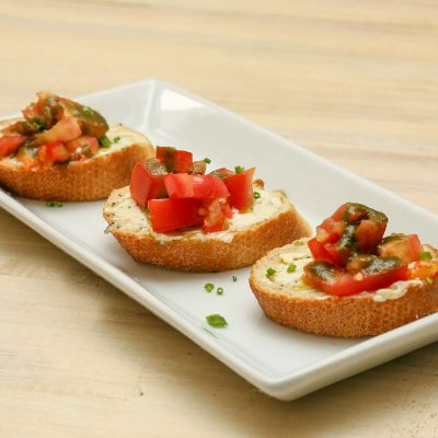 Herb bread snack