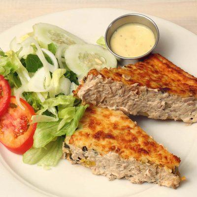 Quiche with tuna
